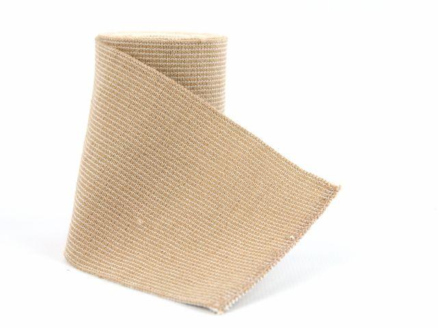 Bandagem Elástica - 120x7,5cm - Bege - Mercur