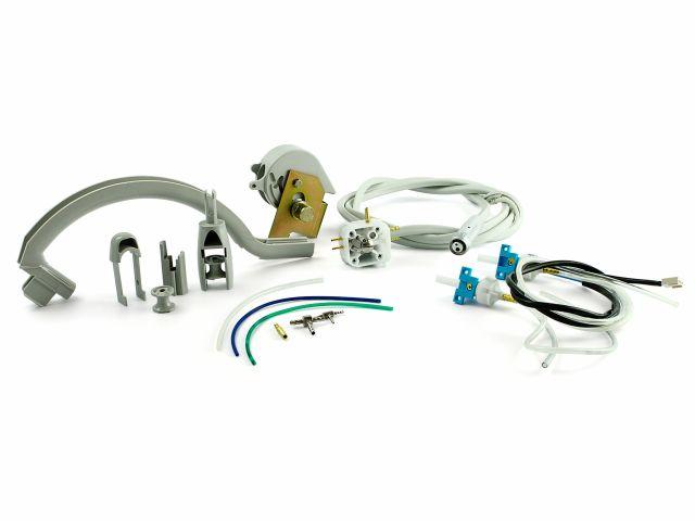 Kit Conexão Borden Klassis, Sistema S e com Mangueira, Utilizado no Conjunto Odontológico Klassis - Kavo