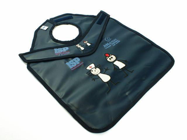 Kit de Proteção Radiológica Infantil - Com Proteção de Tireóide Fixo - NMartins