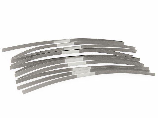 Tira de Lixa em Aço Monoface - 12 Unidades - Fava