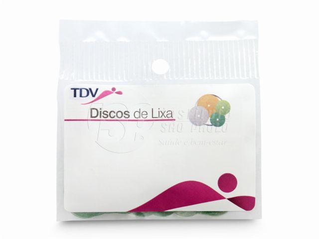 Discos de Lixa - (Extra Fina) 100 Unidades - Tdv