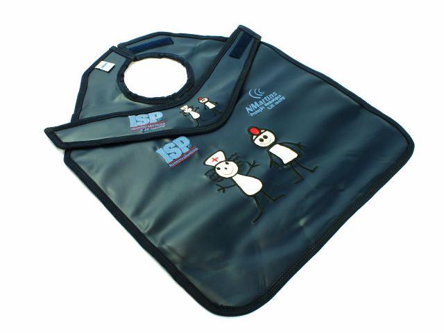 Kit de Proteção Radiológica Infantil - Com Proteção de Tireóide Separada - NMartins