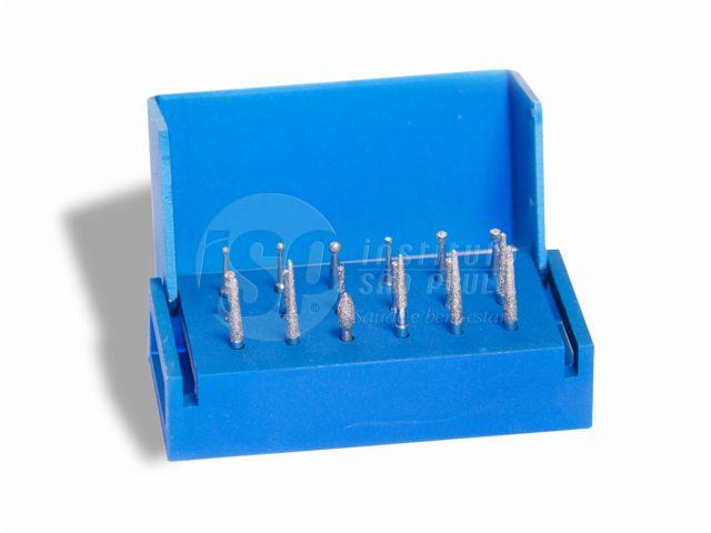 Kit N-aplicacoes Fava Com 18 Pontas - Broqueiro Aluminio - Fava