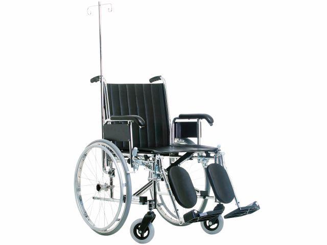 Cadeira de Rodas Hospitalar - 120kg - Jaguaribe