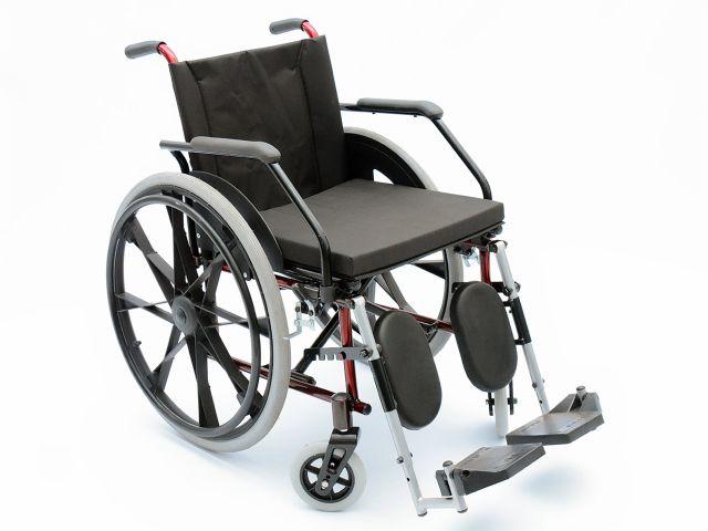 Cadeira de Rodas Flex Comfort - 100Kg - com Elevação de Pernas - Prolife