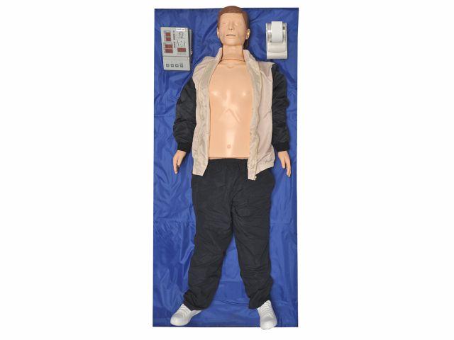 Manequim Adulto para Treinamento de RCP com Dispositivo de Armazenamento de Dados e Impressora - TGD-4005 - Anatomic