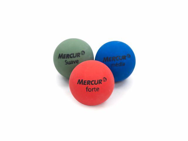 Bolas Fisiobol 6cm - 3 Unidades - Mercur