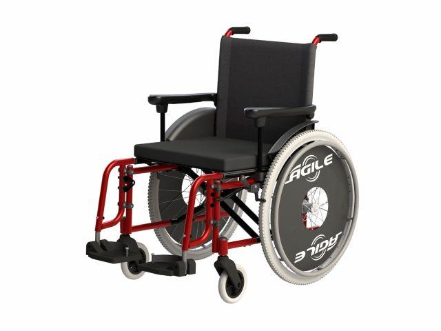 Cadeira de Rodas Ágile - 120Kg - Jaguaribe