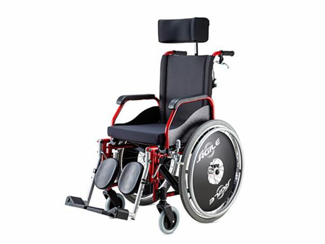 Cadeira de Rodas Ágile Reclinável - 120Kg - Jaguaribe