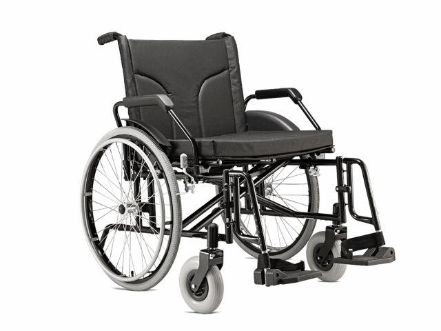 Cadeira de Rodas Big - 160Kg - Jaguaribe