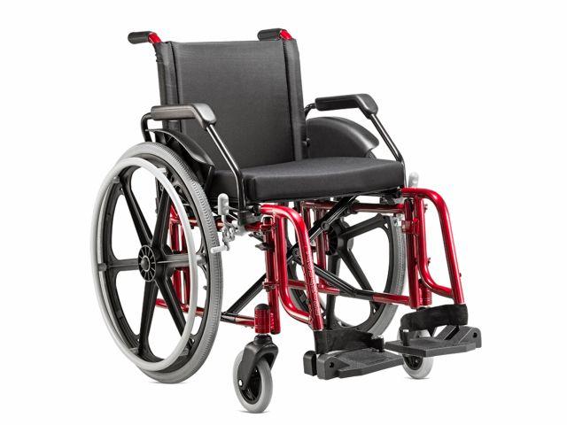 Cadeira de Rodas Fit - 100Kg - Jaguaribe