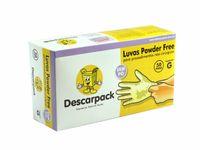 Foto 1 - Luva Descartável Descarpack - Powder Free - 100 unidades