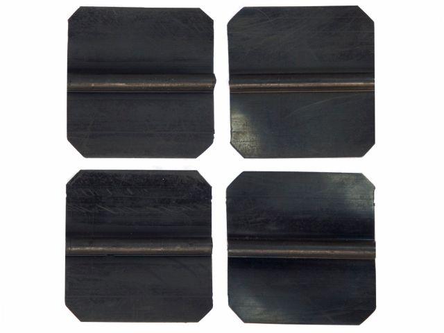 Eletrodo de Silicone Condutivo - 5x5cm - 4un - ASX