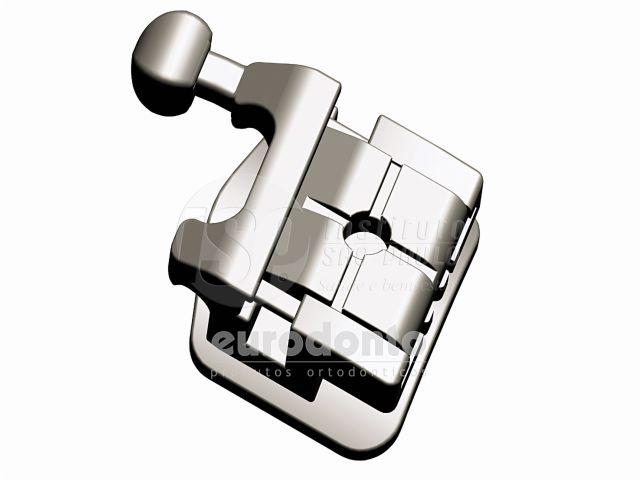 Reposição Braquete Metálico Autoligado Roth Tellus Slot 0.22, 10 unidades - Eurodonto