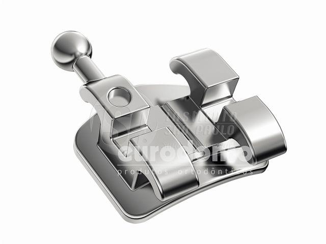 Reposição Braquete Metálico Roth RX Slot 0.22, 10 unidades - Eurodonto