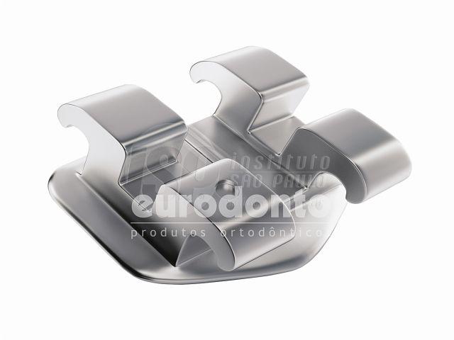 Reposição Braquete Metálico Ricketts Slot 0.18, 10 Unidades - Eurodonto