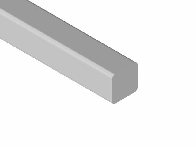 Fio em Vareta Aço Eurodonto - Quadrado - 10 Arcos