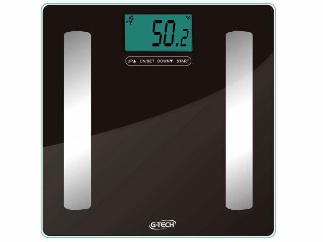Balança Digital com Medição de Gordura Glass Pro - 150Kg - G-Tech