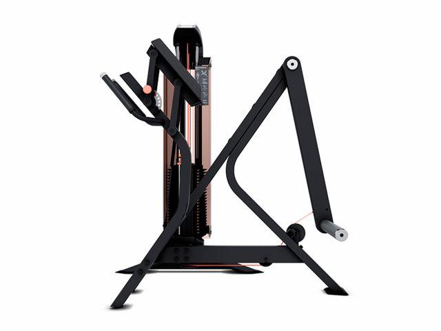 Estação de Musculação New Edge+ Glúteo Com Contador e Carenagem - Movement