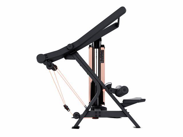Estação de Musculação New Edge+ Puxada Guiada Com Contador e Carenagem - Movement