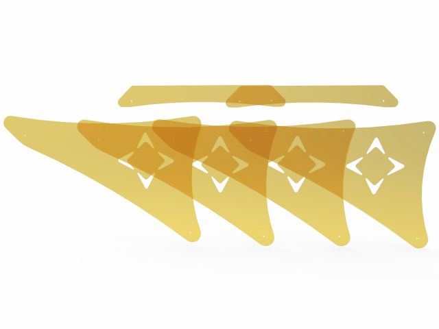 Kit de Acrílico Para Cadillac - Cross Pilates - Arktus