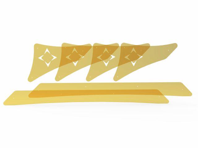 Kit de Acrílico Para Reformer - Cross Pilates - Arktus