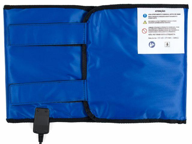 Manta Térmica Termotek Abdominal - 27x97cm - Azul - Estek