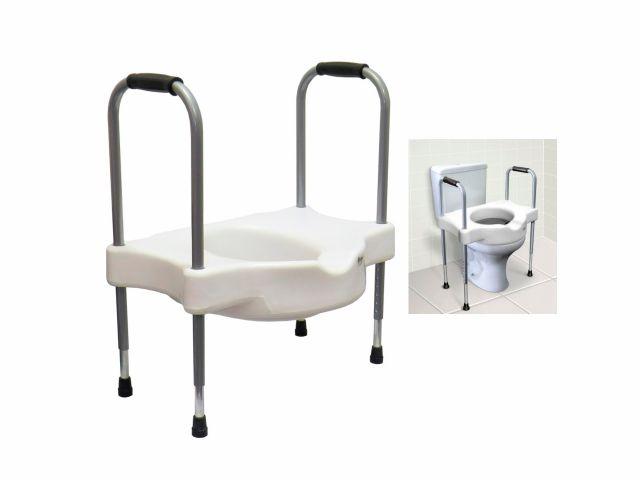 Elevador de Assento Sanitário - Alças Reguláveis - Sit V - Carci