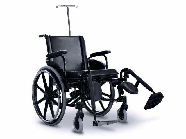 Cadeira de Rodas ULX Hospitalar - 120 kg - Ortobras