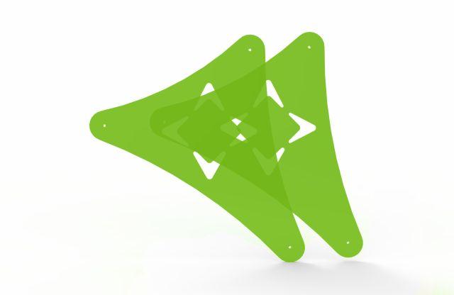 Kit de Acrílico Para Cadeira Combo - Cross Pilates - Arktus