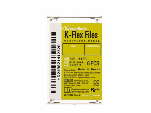 Lima Manual K-Flex 25MM Série Especial - SybronEndo