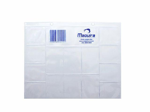 Cartão Plástico para Raio X com 14 Furos - Maquira