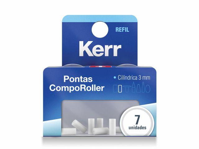 Refil Espátula Modeladora Comporoller Ponta Cilíndrica de 3 mm 7 Unidades - Kerr