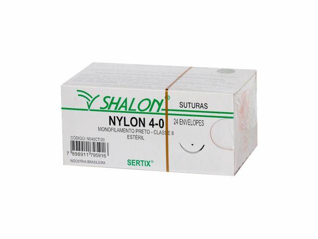 Fio de Sutura Nylon 4.0 - Shalon