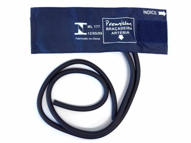 Braçadeira Algodão Fecho/Velcro Neonatal - Premium