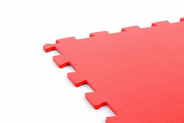 Tatame em eva com encaixe 50 X 50 cm -  vermelho - Arktus