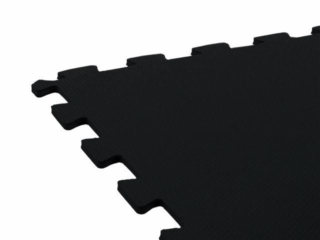 Tatame em EVA com encaixe 50 X 50 cm - preto - Arktus
