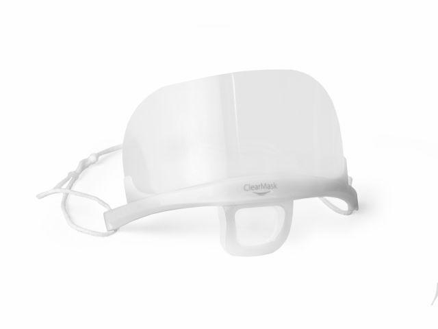 Máscara Protetora Higiênica - ClearMask - Com 01 Refil - Estek