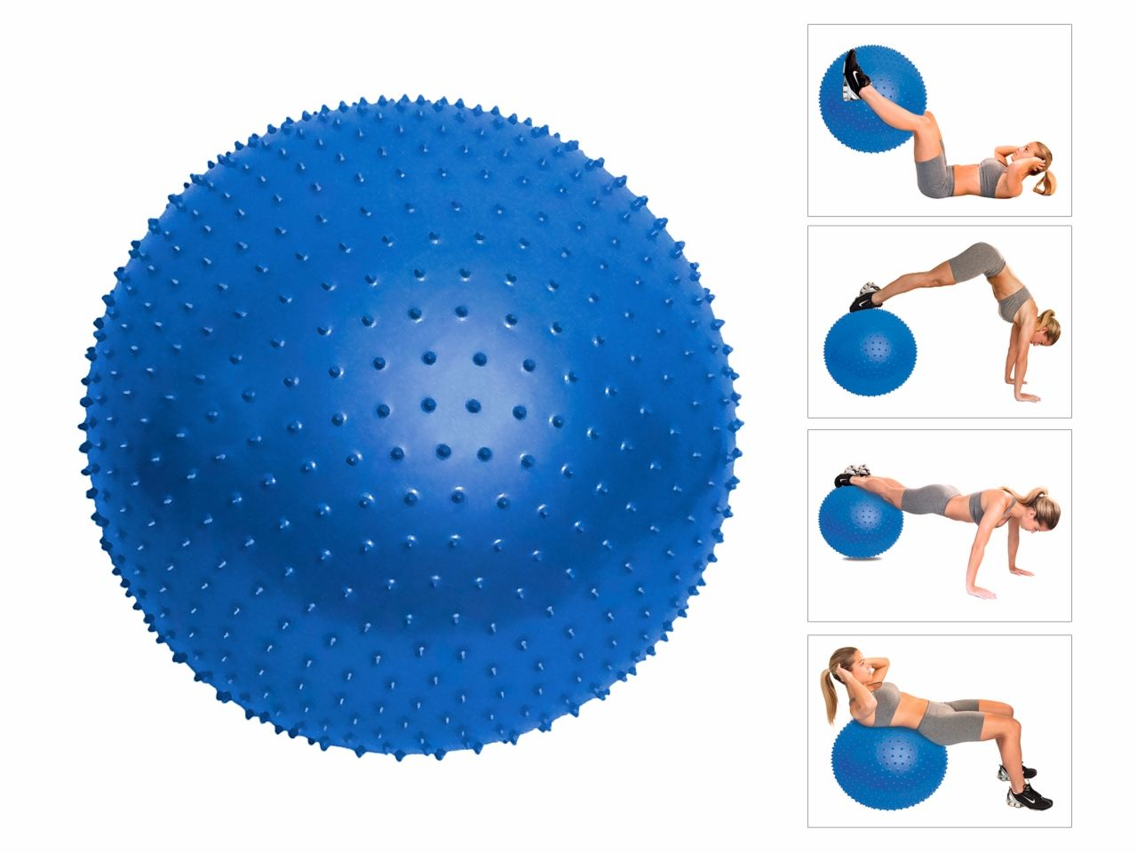 Bola de Massagem - 65cm - Com Bomba de Ar - ISP Saúde.com.br 9c3e8e04d4264