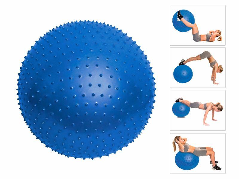 Foto 1 - Bola de Massagem - 65cm - Com Bomba de Ar - ACTE