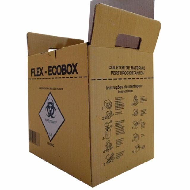 Caixa Coletora de Material Perfurocortante - Ecobox