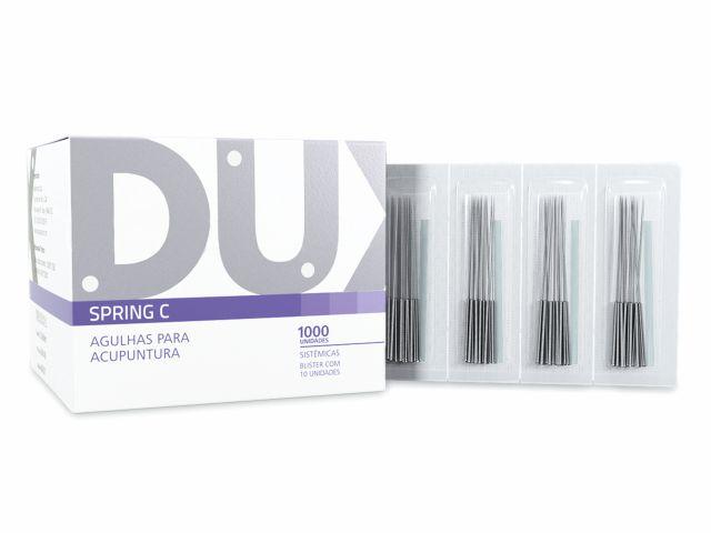 Agulha Para Acupuntura Spring C - 0,20x40mm - 1000un - DUX