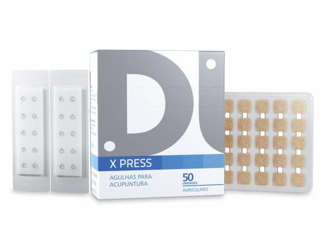 Agulha Auricular - X Press - Com Micropore - 1,5mm - 50un - DUX