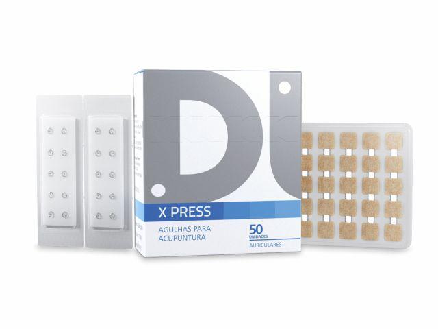 Agulha Auricular - X Press - Com Micropore - 1,8mm - 50un - DUX