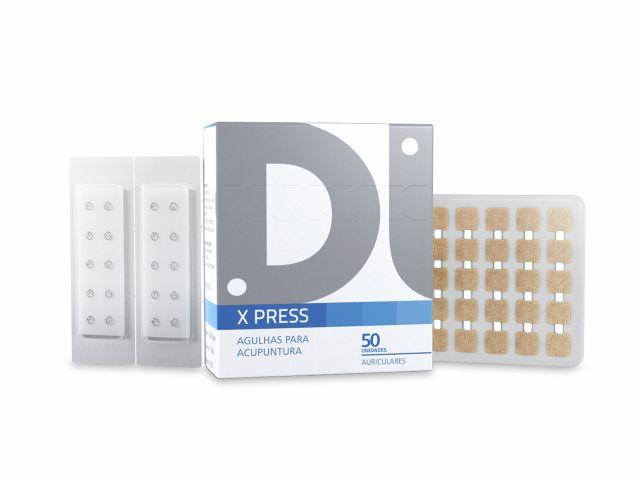 Agulha Auricular- X Press - Com Micropore - 2,0mm - 50un - DUX