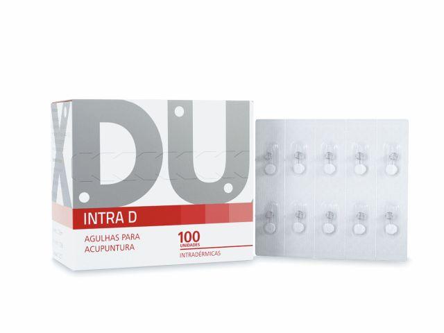 Agulhas Intradérmicas - Intra D - 0,16x9mm - 100un - DUX
