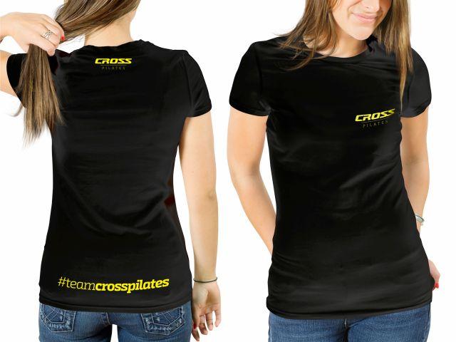 Camiseta Cross Pilates - Baby Look - Feminina - Arktus