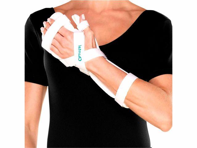 Tala em ABS Para Punho, Mão e Dedos Esquerda - Branca - 01un - Chantal