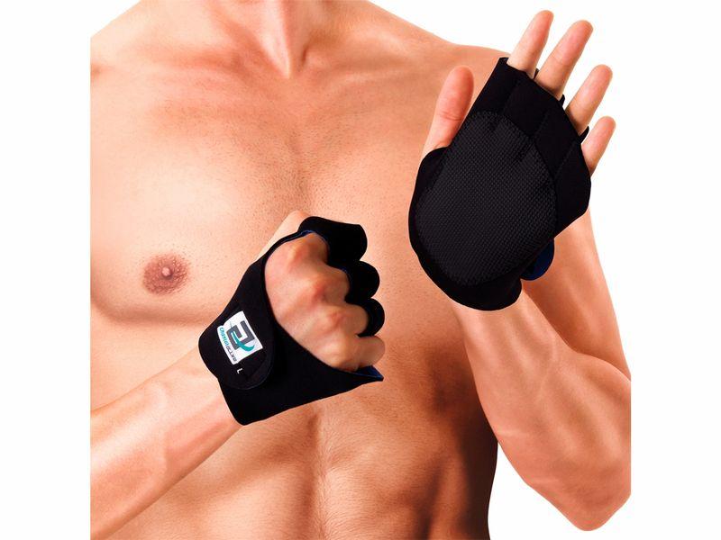 Foto 1 - Luva para Musculação - Preta - Par - Chantal