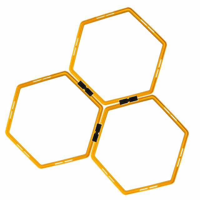 Kit Arcos Hexagonais Para Treinamento de Agilidade - Acte